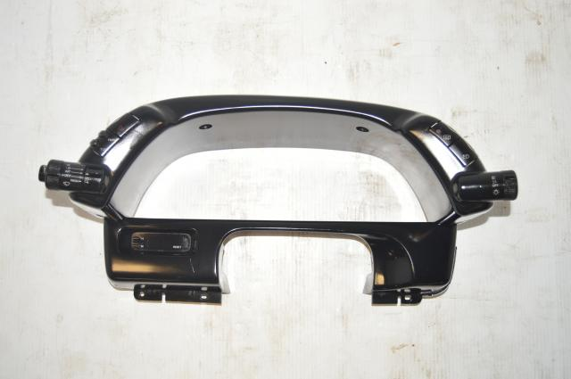 Used Nissan R32 GTR Interior Panel Gauge Cluster Shroud / Dash Meter for Sale 89-94 RHD