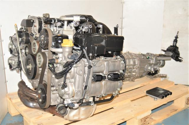 Used DOHC H4 Subaru BRZ / Scion FRS FA20 2.0L Replacement NA Boxer Engine with 6-Speed Manual Transmission & Rear Differential for Sale