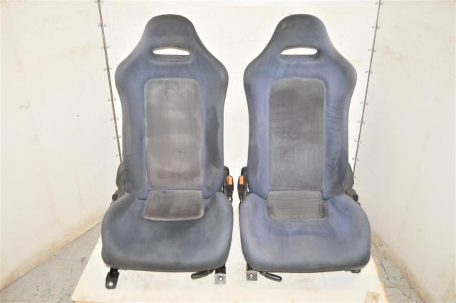 Used Nissan GTR R32 OEM RHD Bucket Seats for Sale with Rails