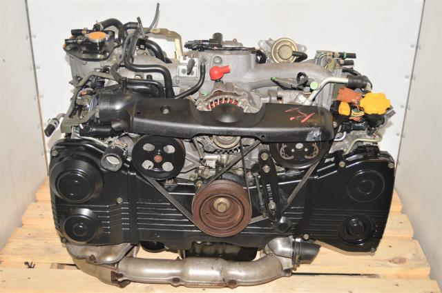 Used Subaru TD04 Turbocharged EJ205 2002-2005 AVCS 2.0L DOHC Engine