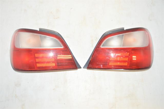 Used JDM Subaru WRX Version 7 Rear Left & Right Tail Lights for Sale