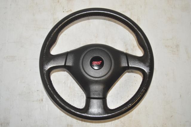 Used Version 9 GDB STi 2006-2007 Interior Steering Wheel Assembly for Sale