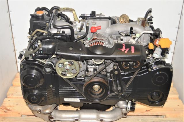 JDM WRX AVCS EJ205 TD04 Turbocharged 2.0L Replacement Engine for Sale