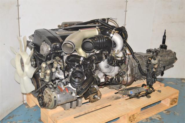 Used Nissan Skyline R32 GTR Replacement Engine Swap with Manual Transmission for Sale