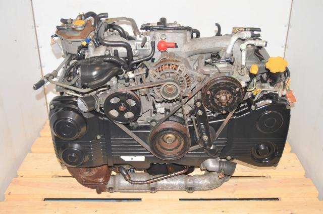 JDM Used EJ205 WRX 2002-2005 TGV Deleted Engine with AVCS for Sale with TF035 Turbo
