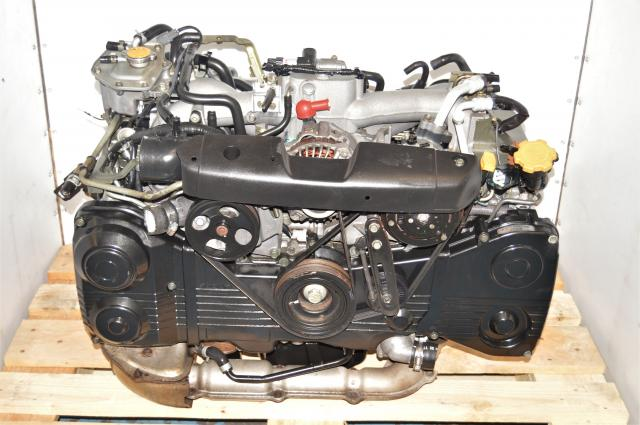 Used AVCS EJ205 2.0L DOHC EJ205 JDM Engine Replacement for Sale with TD04 Turbocharger