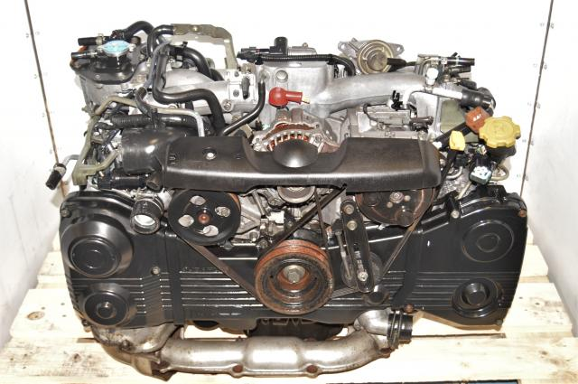 Used JDM GDA WRX 2002-2005 2.0L AVCS EJ205 Replacement Engine with TD04 Turbo for Sale