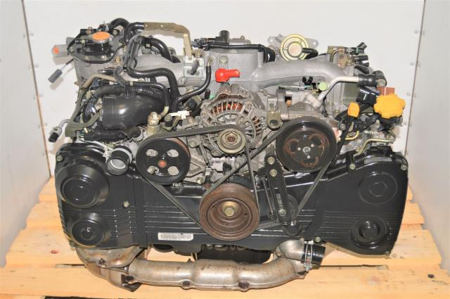 JDM EJ205 WRX 2002-2005 AVCS GDA Replacement 2.0L Engine for Sale with TD04 Turbo