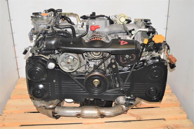 Used JDM Subaru WRX 2002-2005 EJ205 AVCS Replacement DOHC 2.0L Engine & TD04 Turbo