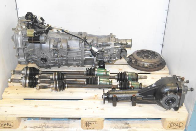 Used JDM WRX 2002-2005 Replacement 5-Speed Manual Transmission Swap with 4.444 Rear LSD