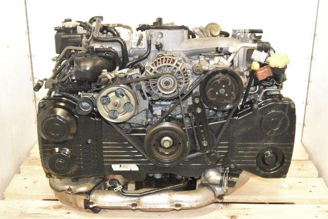 Used Subaru AVCS DOHC WRX 2002-2005 2.0L EJ205 Replacement Engine Swap for Sale with TD04 Turbocharger