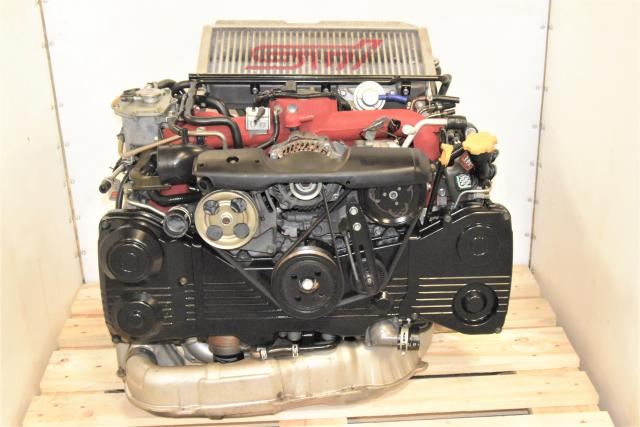 Used Subaru EJ207 STi Version 9 Twin-Scroll JDM 2002-2007 Replacement DOHC AVCS Turbocharged Engine for Sale