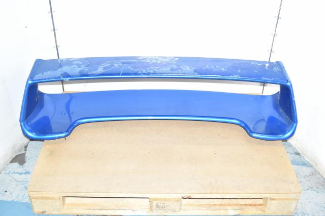 Used JDM Subaru GDB STi Spoiler / WRB Wing Assembly for Sale 2002-2007