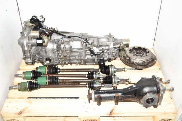 Used JDM 5 Speed WRX 2002-2005 Replacement GDA Manual Transmission with 4.11 Gear Ratio & Matching Rear Differential