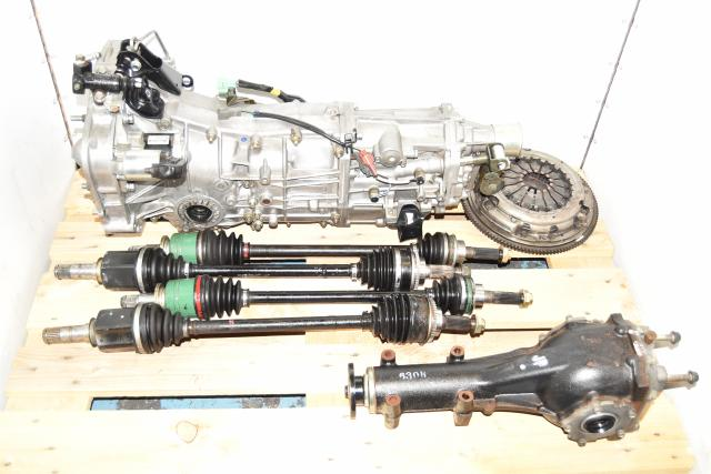 JDM WRX 2002-2005 GDA 2.0L Replacement 5-Speed Used Manual Transmission with 4.444 Rear Differential