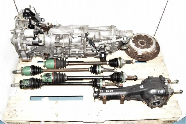 JDM WRX 2002-2005 GDA Pull Type 2.0L Replacement 5-Speed Used Manual Transmission with 4.444 Rear Differential