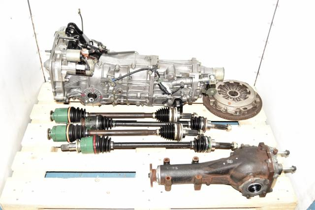 Replacement WRX 2002-2005 4.11 5-Speed Manual Tansmission with Matching Rear Diff, Axles & Clutch
