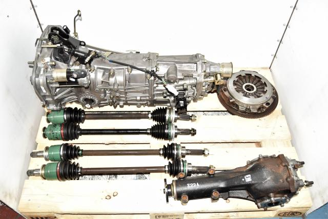 Used WRX 2002-2005 5-Speed Transmission with GDA Axles, Clutch with Rear 4.444 LSD