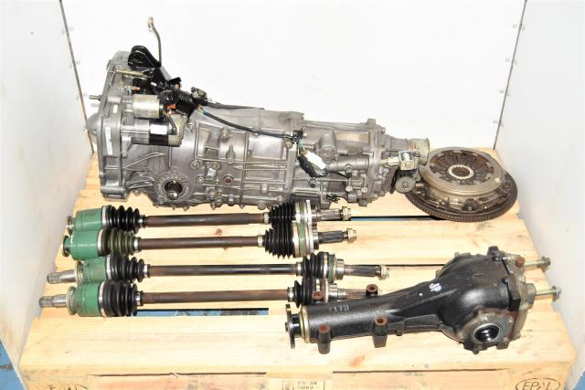 5 Speed WRX 2002-2005 Replacement Manual Transmission with Axles, 4.11 Differential & Clutch