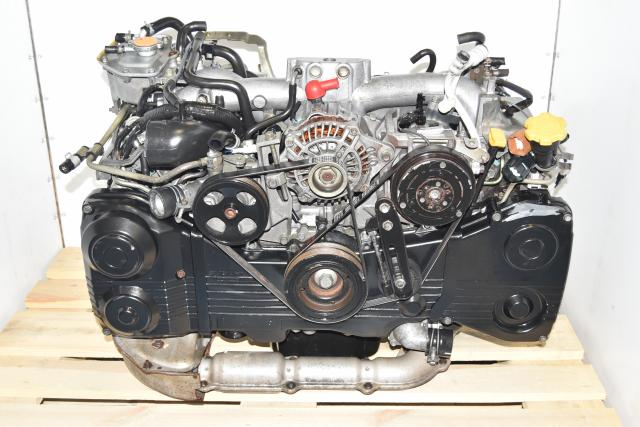 Used Subaru AVCS TGV Deleted EJ205 2.0L WRX 2002-2005 Replacement Engine with TF035 Turbo