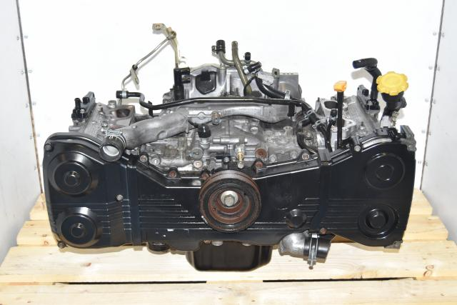 Used Subaru EJ205 GDA Non-AVCS Long Block 2002-2005 JDM Engine for Sale
