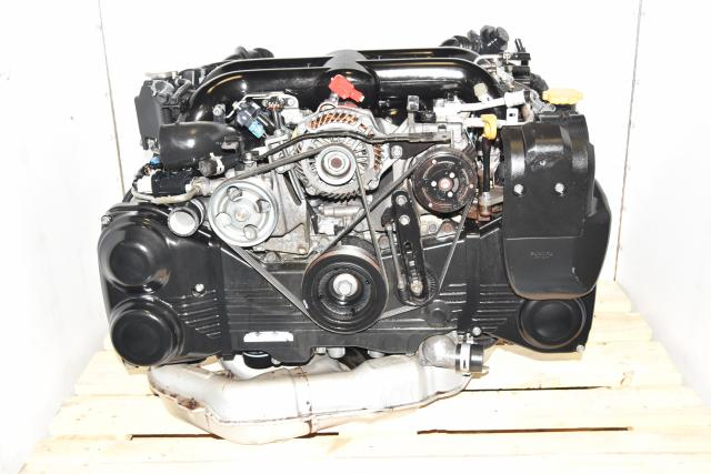 Dual AVCS JDM Twin Scroll EJ20X WRX 2008-2014 2.0L Used Replacement DOHC Engine Swap for Sale