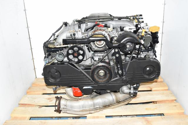 Used Replacement JDM 2.0L EJ203 SOHC NA Engine Swap for Impreza RS Non-AVLS with EGR