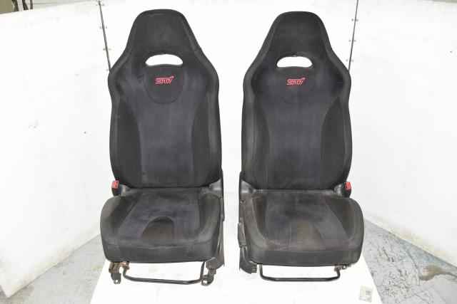 Used Subaru GDB Spec-C STi Front Left & Right RHD JDM Seats for Sale 02-07
