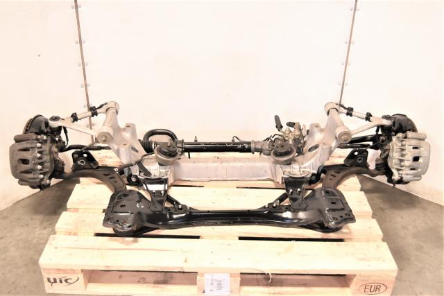 Used JDM Toyota Supra MK4 Front & Rear Brake Kit with Hubs, Rotors, Subframe & Sway Bar for Sale