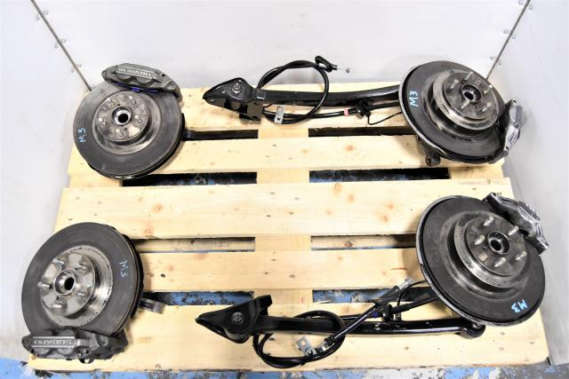 Used Subaru 5x100 4 Pot / 2 Pot Complete Brake Kit for Sale with Rotors & Trailing Arms