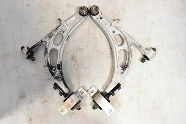 Used Subaru GD Front Lower Aluminum Control Arms for Sale WRX STi 2002-2007
