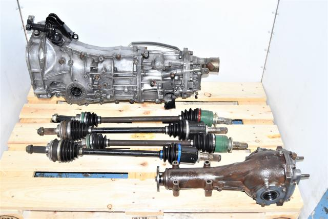 Used Replacement Subaru Impreza 2006+ Push Type USDM Transmission Swap for Sale