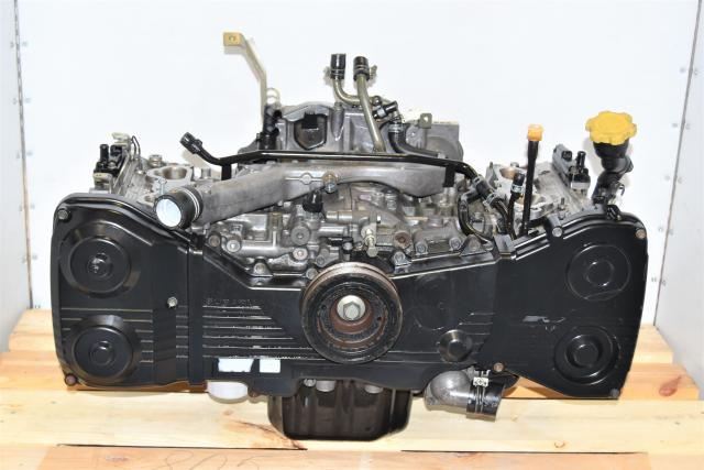 Replacement JDM DOHC 2.0L WRX 2002-2005 Non-AVCS Long Block EJ205 Engine