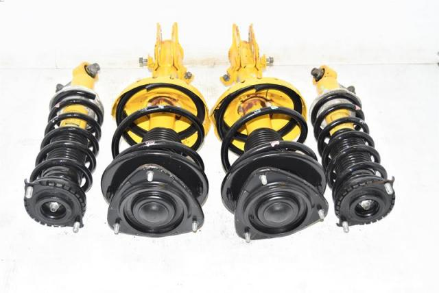 JDM LGT 2004-2009 Yellow OEM Bilstein Front & Rear Suspensions for Sale