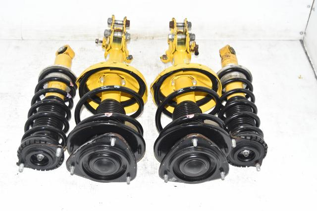 Used JDM Legacy OEM Bilstein 2004-2009 Replacement Yellow Suspensions for Sale