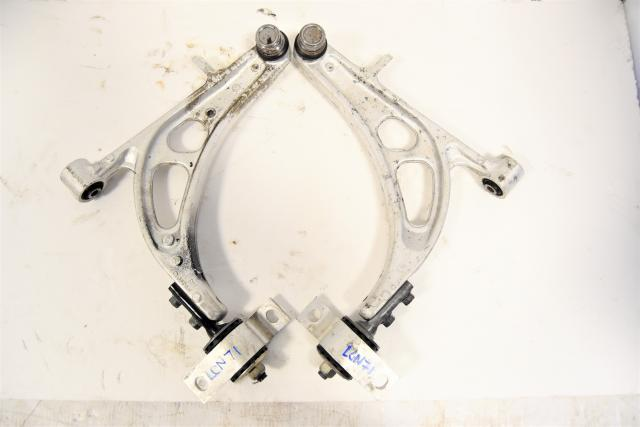 Used JDM GC8 STi Aluminum Front Lower Control Arms for Sale