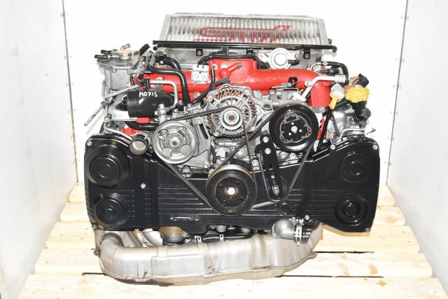 Used JDM Version 9 STi EJ207 GDB 2002-2007 2.0L DOHC AVCS Turbocharged Twin Scroll Engine