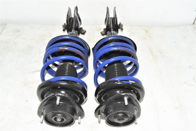 Used JDM WRX 2002-2007 Version 7 GDA Front Suspensions for Sale with Aftermarket Coilsprings