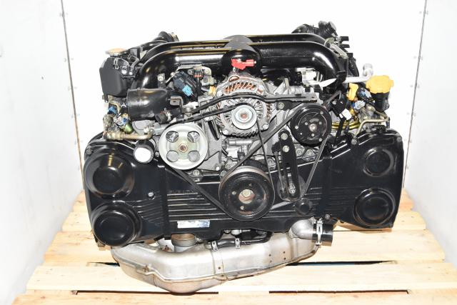 Used Subaru JDM Legacy GT 2.0L Replacement EJ20X Dual-AVCS, Twin Scroll Engine
