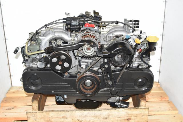 Used Subaru NA SOHC Non-Turbo Impreza RS / TS, Forester, Legacy EJ201 JDM 2.0L Replacement Engine