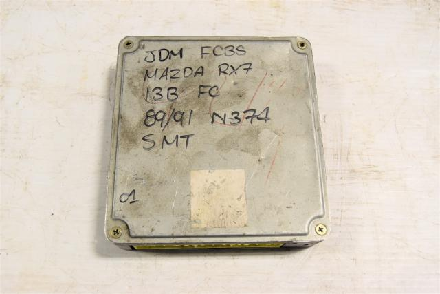 Used Mazda RX-7 13B Rotary JDM 1989-1991 MT ECU for Sale N374