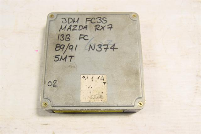 Used JDM Mazda RX7 13B 5MT Rotary FC3S ECU for Sale N374