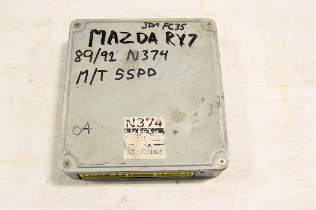 Used Replacement 5MT JDM N374 RX-7 13B ECU for Sale