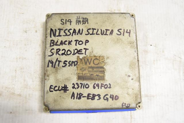 Used JDM SR20DET Blacktop 5MT S14 Silvia 23710-69F01 ECU