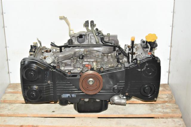 Used JDM Replacement EJ205 Long Block WRX 2002-2005 2.0L DOHC Engine for Sale