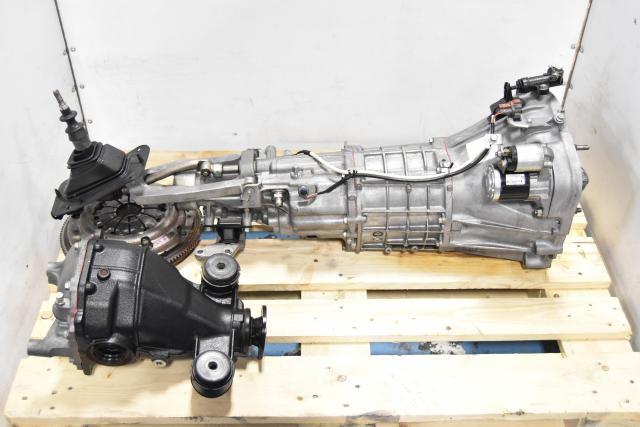 Used JDM Subaru BRZ / FRS 2013-2016 6-Speed Transmission Replacement with Rear Differential & Clutch Assembly for FA20