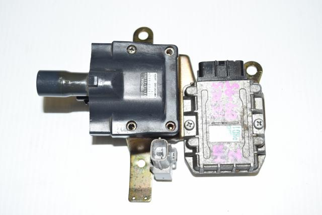 90919-02185 OEM Toyota Ignition Coil with used JDM 89621-12050 Igniter Chip for Sale