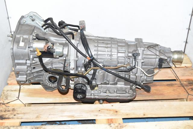 Used JDM TV1B4MB5AB Automatic 4.444 Gear Ratio Transmission for Sale 2002-2005 Impreza / WRX (4 Speed)