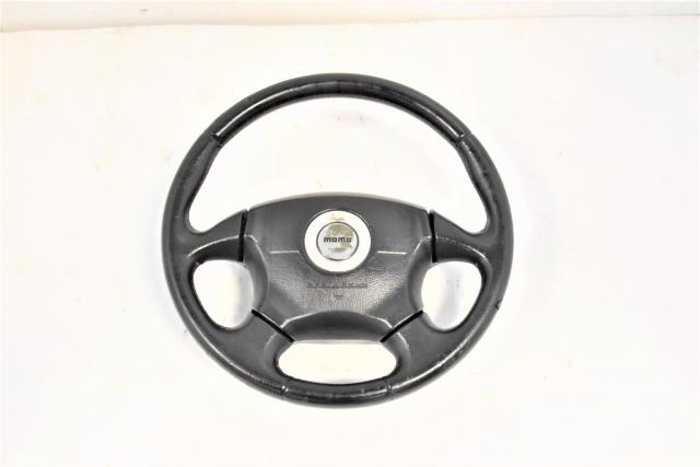 Momo JDM WRX 2002-2003 Used Subaru GD GG Steering Wheel for Sale