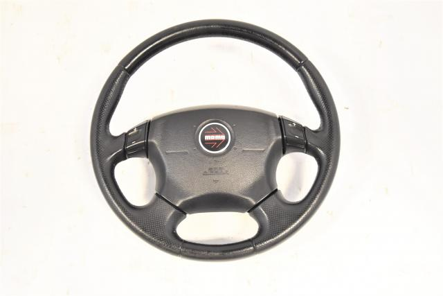 SG5 JDM Subaru Momo Option Used Steering Wheel Assembly for Sale